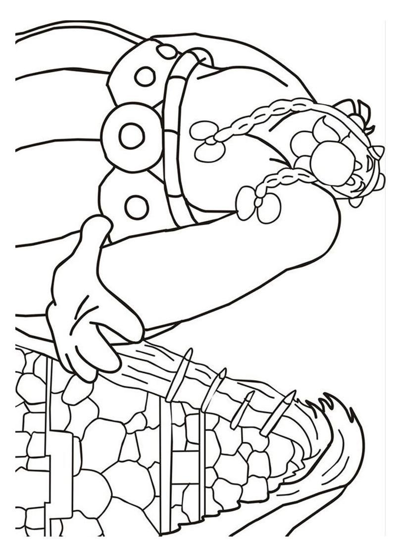 Asterix da colorare 54
