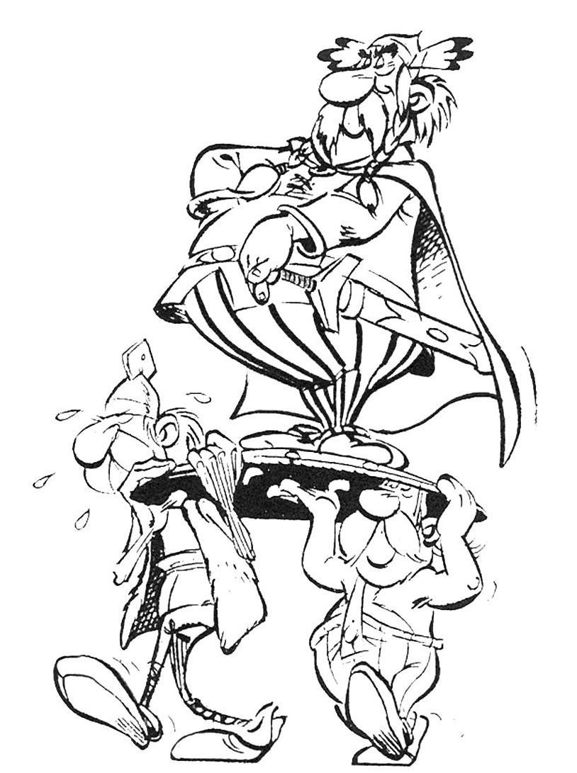Asterix da colorare 60