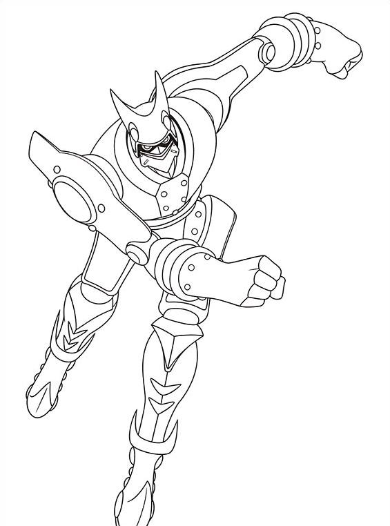 Astroboy da colorare 4