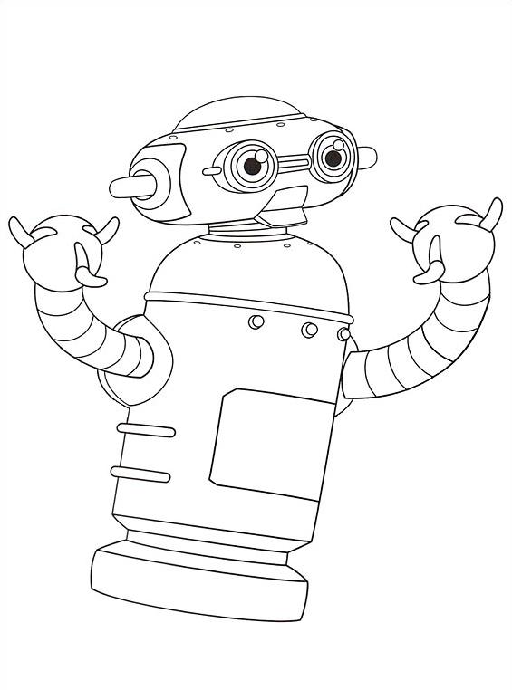 Astroboy da colorare 5