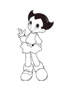 Astroboy da colorare 6