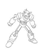 Astroboy da colorare 8