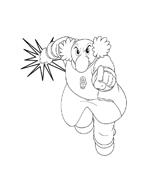 Astroboy da colorare 10