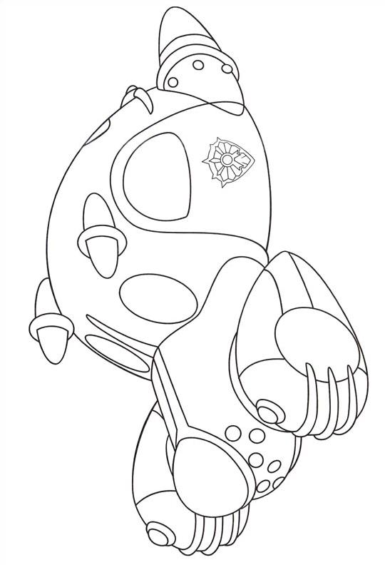 Astroboy da colorare 16