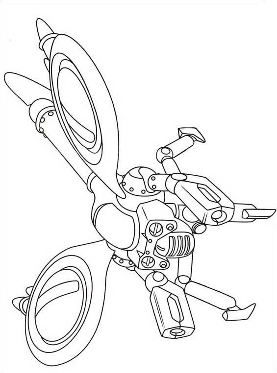 Astroboy da colorare 52