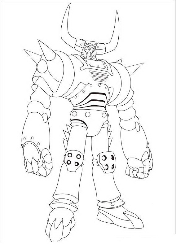 Astroboy da colorare 53