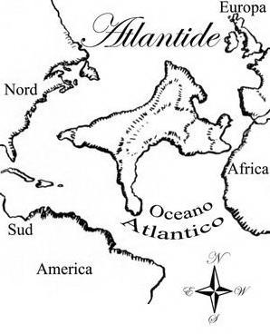 Atlantis da colorare 2