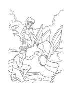 Atlantis da colorare 73