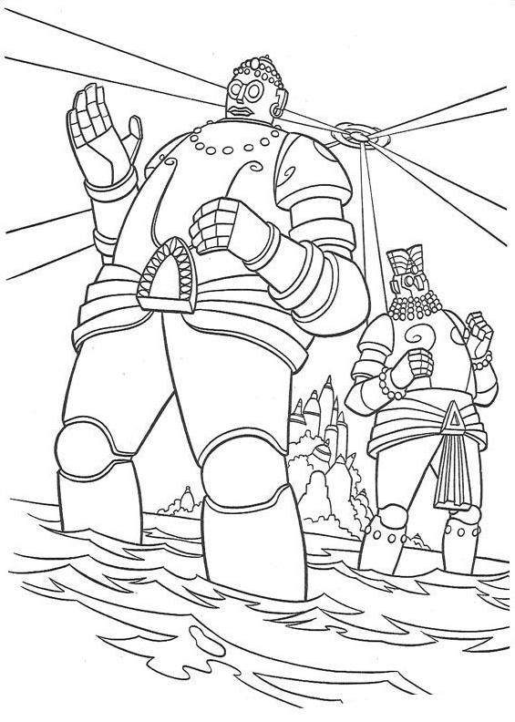 Atlantis da colorare 111