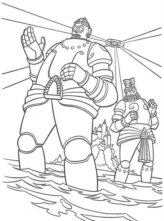 Atlantis da colorare 138