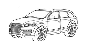 Automobile da colorare 4