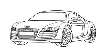 Automobile da colorare 6