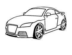 Automobile da colorare 9
