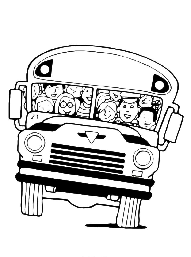 Autobus da colorare