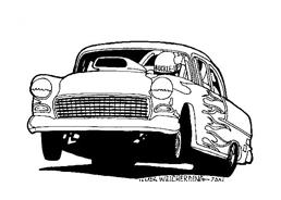 Automobile da colorare 11