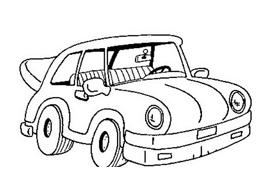 Automobile da colorare 28