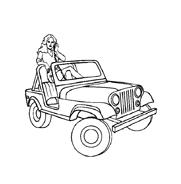 Automobile da colorare 34