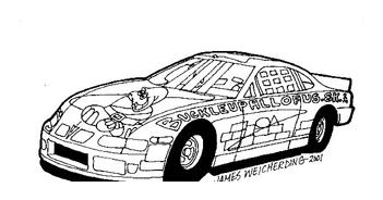 Automobile da colorare 40