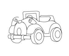Automobile da colorare 52