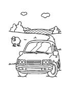 Automobile da colorare 70