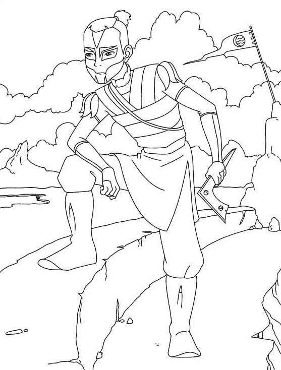 Avatar da colorare 41