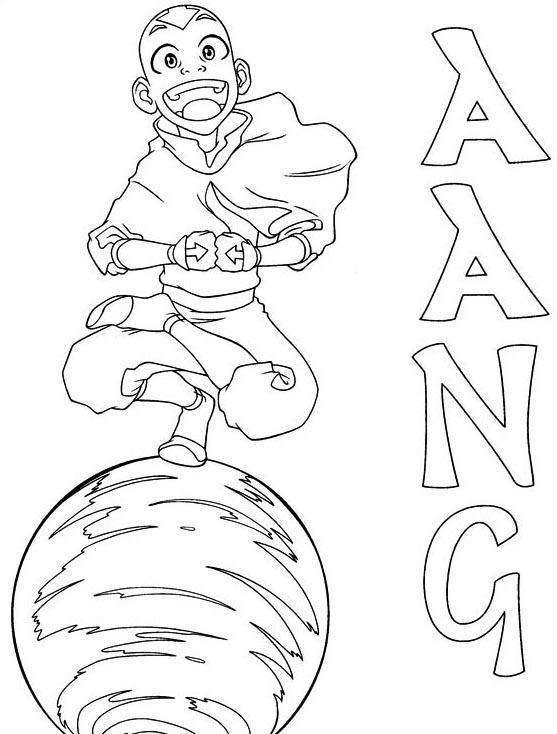 Avatar da colorare 44