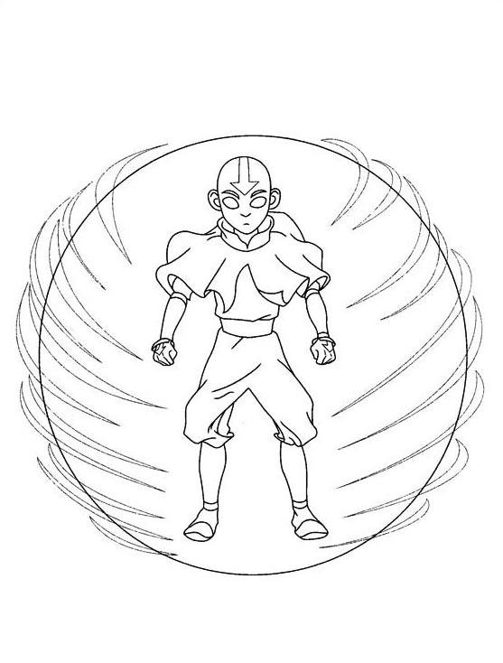 Avatar da colorare 51