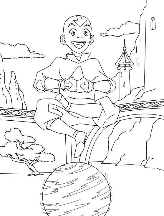 Avatar da colorare 77