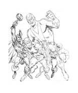 The Avengers Da Colorare Disegnidacolorare It