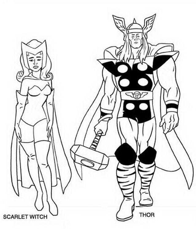 Avengers da colorare 3