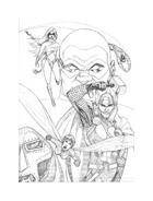 The Avengers da colorare 9