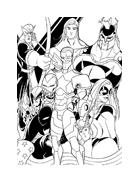 The Avengers da colorare 13