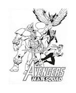 The Avengers da colorare 15