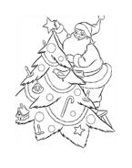 Natale da colorare 125
