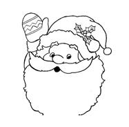 Natale da colorare 154