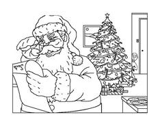 Natale da colorare 179