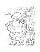 Natale da colorare 202