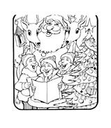Natale da colorare 212