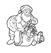 Natale da colorare 218