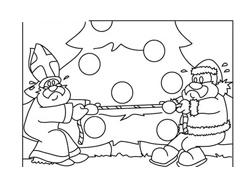 Natale da colorare 252