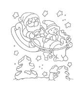 Natale da colorare 286