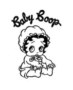 Betty boop da colorare