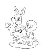 Looney toons da colorare 4