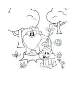 Looney toons da colorare 15