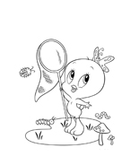 Looney toons da colorare 19