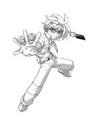 Bakugan Battle Brawlers da colorare 2