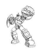 Bakugan Battle Brawlers da colorare 5