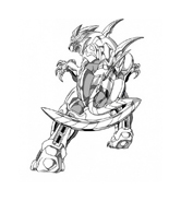 Bakugan Battle Brawlers da colorare 23