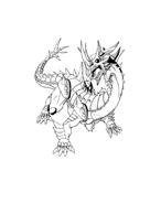 Bakugan Battle Brawlers da colorare 49