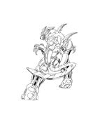Bakugan Battle Brawlers da colorare 50